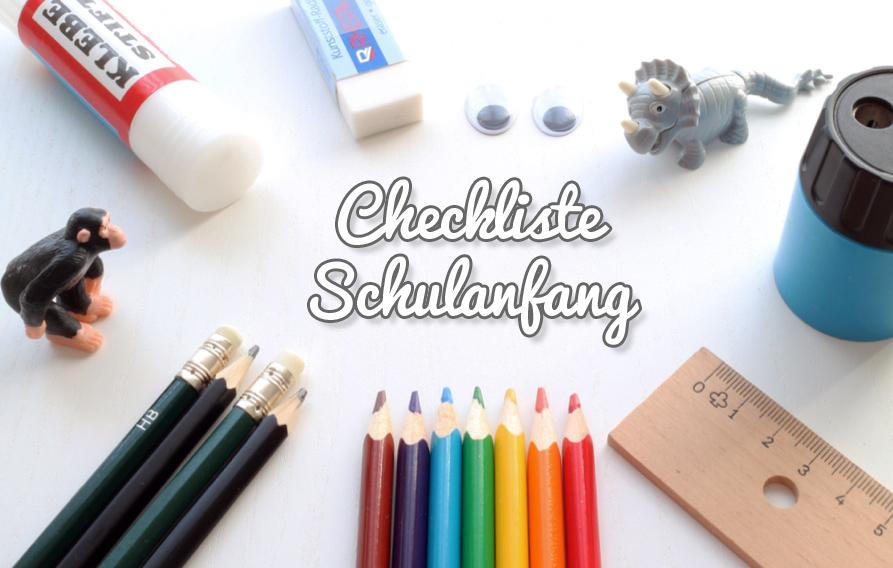 ChecklisteSchulanfang
